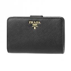 プラダ 二つ折り財布 レディース