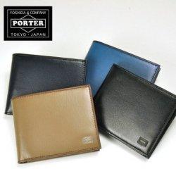 PORTER 二つ折り財布(メンズ)