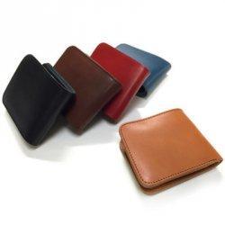 ブランド二つ折り革財布(メンズ)
