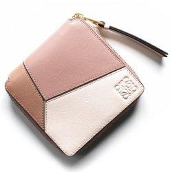 ロエベ 二つ折り財布 レディース