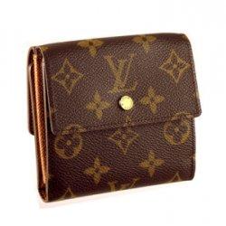 ルイヴィトン 二つ折り財布(レディース)