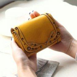ダコタ 二つ折り財布 レディース