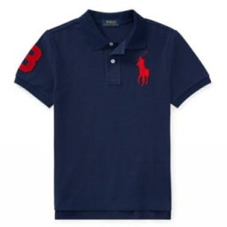 Ralph Lauren Boys Shark Printed Polo Shirt