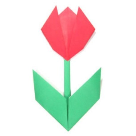 Cara Membuat Bunga Mawar Dari Kertas Origami Mudah - All About Craft | 458x458