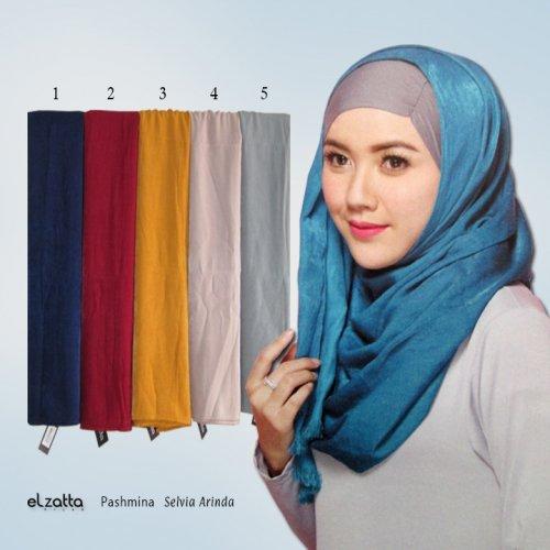 Modis Dan Cantik Dalam Pesona 10 Jilbab Elzatta Di Bawah Rp 100 000