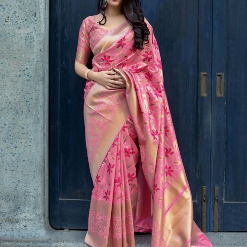 Make Waves and Turn Heads:Top 9 Must Have Trendy Party Wear Saree Designs  of 2020!