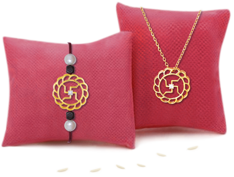 Gold Rakhi Jewellery for 2019: 12 Top Gold And Silver Rakhis