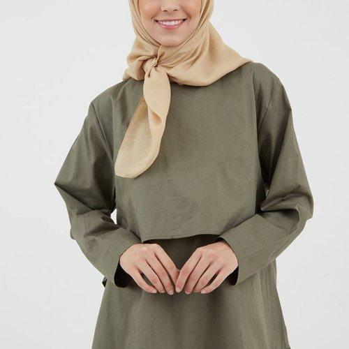 Tak Perlu Risau Bertubuh Pendek 8 Rekomendasi Baju Muslim Ini Bisa Membuat Penampilanmu Tampak Serasi Dan Trendi