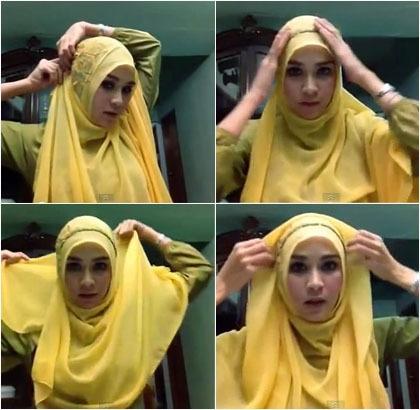 Tampil Anggun Berhijab Dengan 10 Tutorial Hijab Ala Selebriti Indonesia Berikut Ini