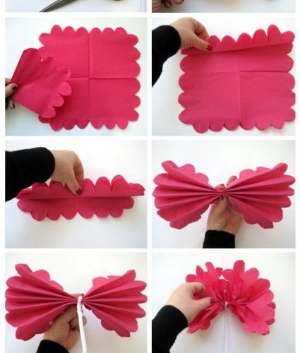 DIY membuat beberapa jenis bunga mawar dari kertas > Do it ... | 500x425