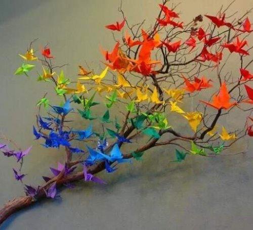 Kertas Origami Ini Bisa Diubah Menjadi 6 Hiasan Kamar Yang Unik Dan Kekinian