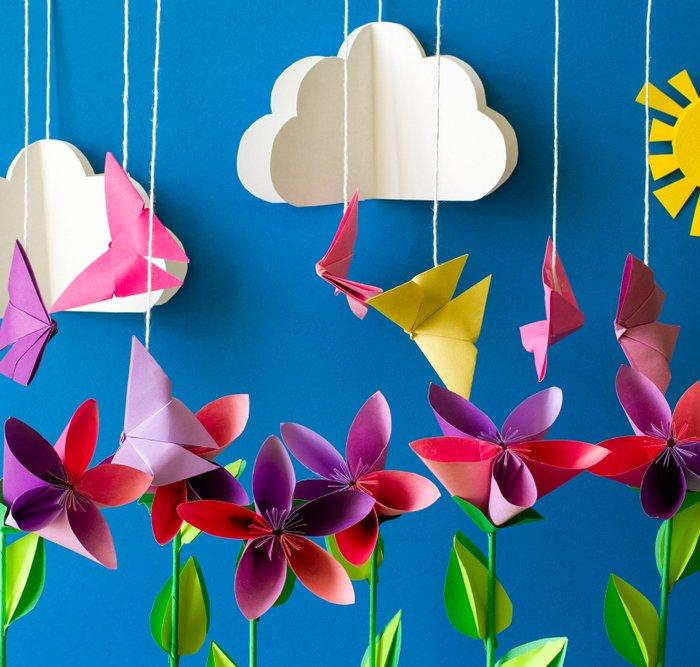 Percantik Ruangan Dengan 11 Hiasan Origami Cantik Yang Bisa Kamu Buat Sendiri Di Rumah