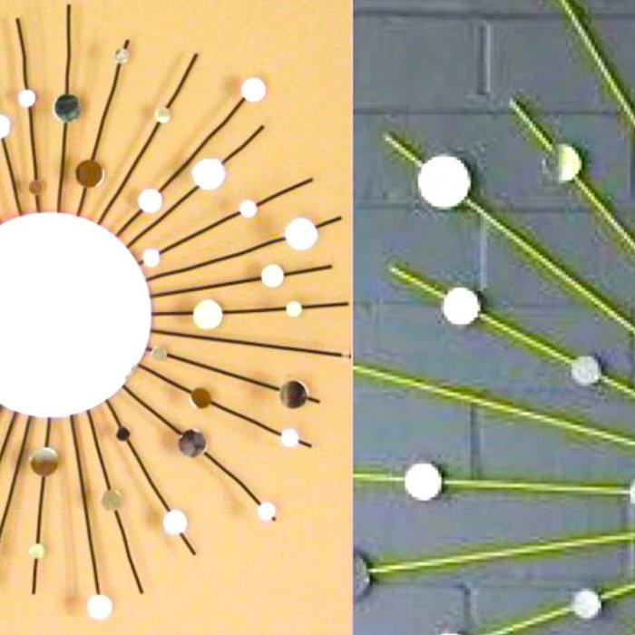 Punya Banyak Sedotan Plastik Tak Terpakai Buat Saja 6 Hiasan Dinding Sedotan Yang Cantik Ini
