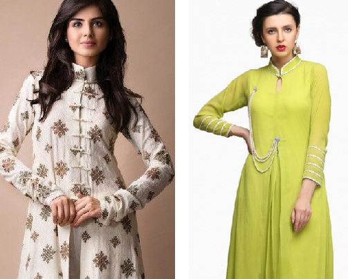 Depending Upon The Occasion The Design On Dresses Is Decided 2020 10 Kurtis High Neck