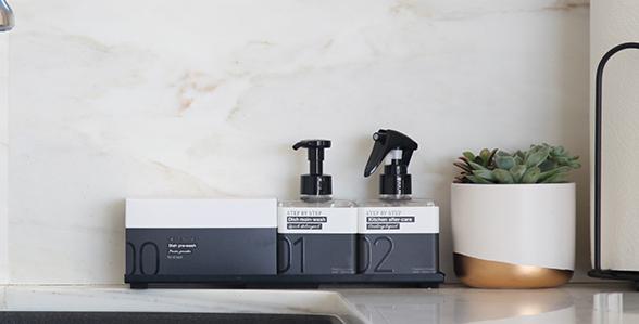 スタイリッシュなボックスギフト「キッチンクリーニングキット」の開発秘話を大特集!|木村石鹸工業株式会社