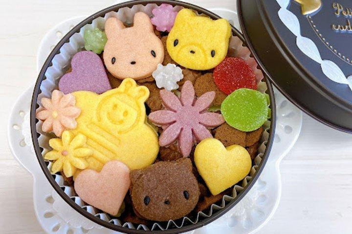 もらって嬉しい!食べて美味しい!カラフルで可愛い「ラブリークッキー缶」の開発秘話とは?|おかしの家