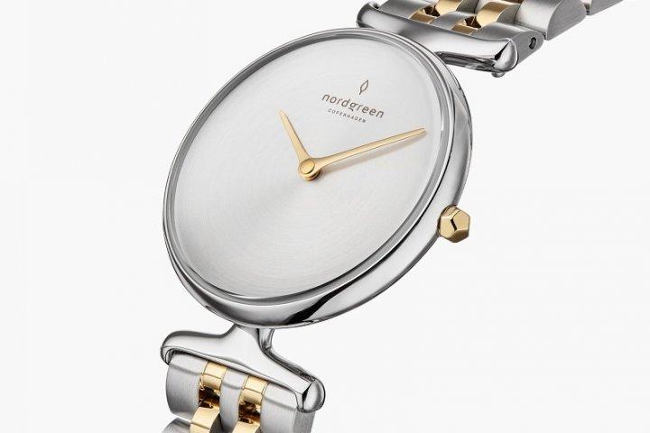 洗練された北欧デザインの腕時計「マットメタルダイヤル シルバーゴールド 5リンクブレス」の開発秘話をインタビュー|Nordgree-ノードグリーン-