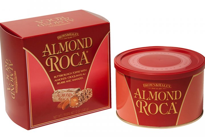 サクッと香ばしい缶入りチョコレート「アーモンドロカ」の開発秘話に迫る|ハワイアンホースト・ジャパン株式会社