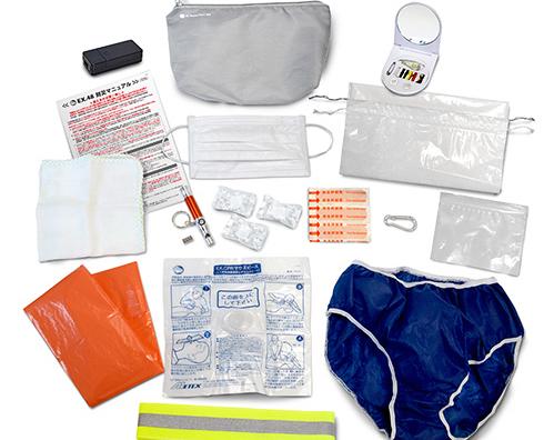 16種類もの必需品がバッグに収まる「EX. レスキューポーチミニ Ⅴ」の開発秘話を解明!|株式会社メテックス