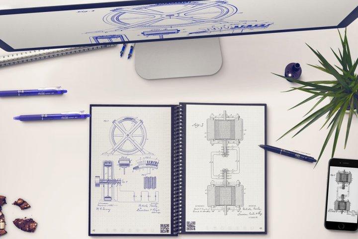 メモを拭いて簡単に消せるので何度も使える「ロケットブック エバーラスト」の開発秘話を取材!|株式会社Xcountry