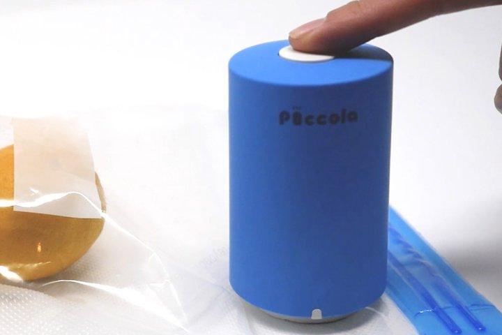 外出先でも使える小型のコードレス真空パック器「Piccola」の開発秘話を大特集!|ジェイワールド株式会社