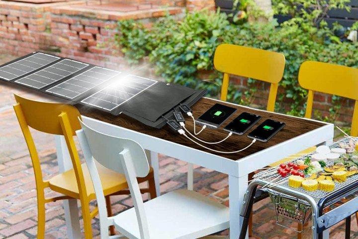 太陽光で素早く充電できる「ポータブルソーラー充電器」の開発秘話に密着! 株式会社エアージェイ
