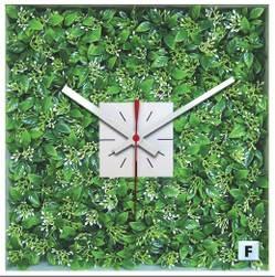 芝生 時計