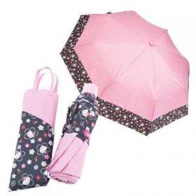 水に濡れると柄が出る 傘