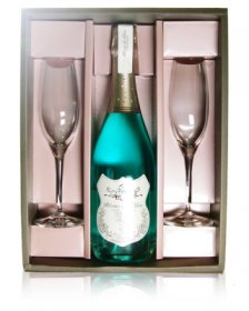 グラス付きワインのギフト