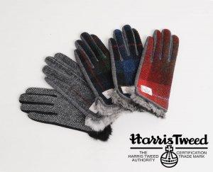ハリスツイード(Harris Tweed) 手袋