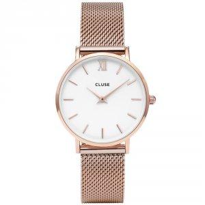ミニュイ(MINUIT) 33mm メッシュ 腕時計