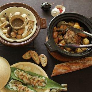 長谷園のビストロ蒸し鍋
