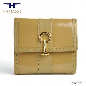 濱野皮革工藝(HAMANO) 二つ折り財布