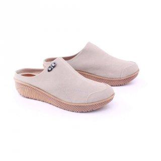 GARSEL sandal sepatu / bustong wanita dewasa Krem GDS 6450