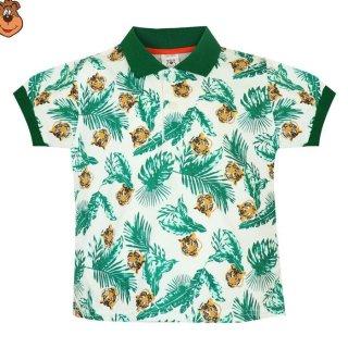 MacBear Baju Anak Laki-laki Atasan Polo Tiger Head