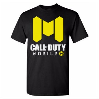 Kaos Game Call Of Duty Mobile COD OTDCOD002 Cotton Combed 24s Katun Hitam