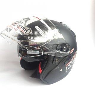 Helm NHK R1 Solid Double Visor
