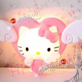 Lampu Tidur Tempel Dinding Hello Kitty Angel