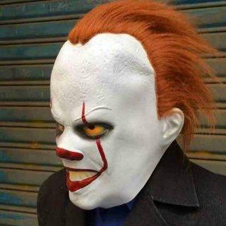 Topeng Seram Halloween Pennywise Clown IT