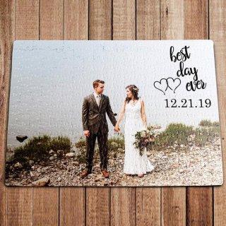Hadiah Kado Puzzle Pernikahan Foto Lamaran Anniversary
