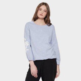Simplicity Trim Lace Blouse