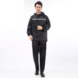 Setelan Jas Hujan Baju Celana Waterproof Bahan Tebal Big Size Raincoat Wanita Pria Speeds 036