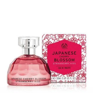 The Body Shop JAPANESE CHERRY BLOSSOM STRAWBERRY KISS EDT FRAGRANCE