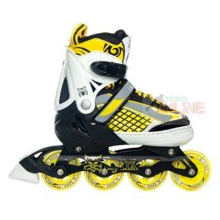 Sepatu Roda LYNX R55 Yellow/Black Recreational Inline Skate