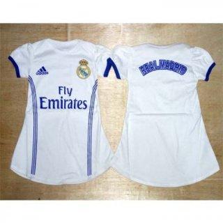 Madrid Home - Dress Baju Bola Bayi Jersey Anak Perempuan