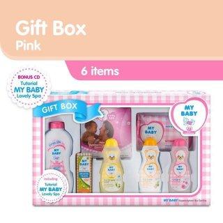 Cussons Baby Gift Box Set Perlengkapan Mandi Bayi