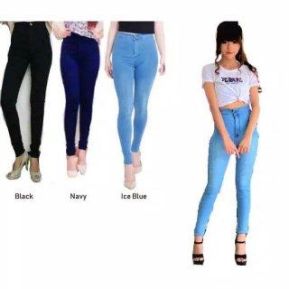 Celana HighWaist Jeans
