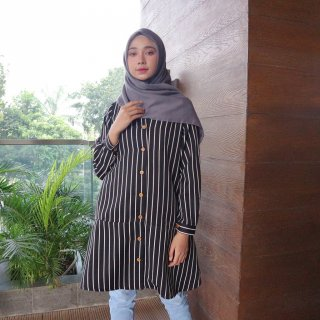Habahijab Pakaian Muslim Wanita Alana Tunik - Jumbo