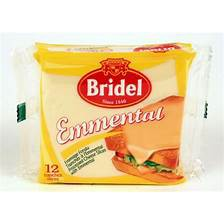 Bridel Cheese Slice Emmental