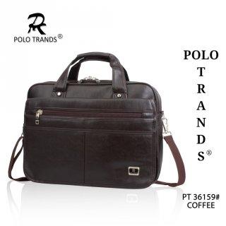 Polo Trands Tas Laptop Kulit / Tas Dokumen Kulit Expandable 36159 & 36160